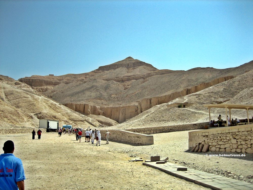 Tal der Koenige, Valley of the Kings, Aegypten