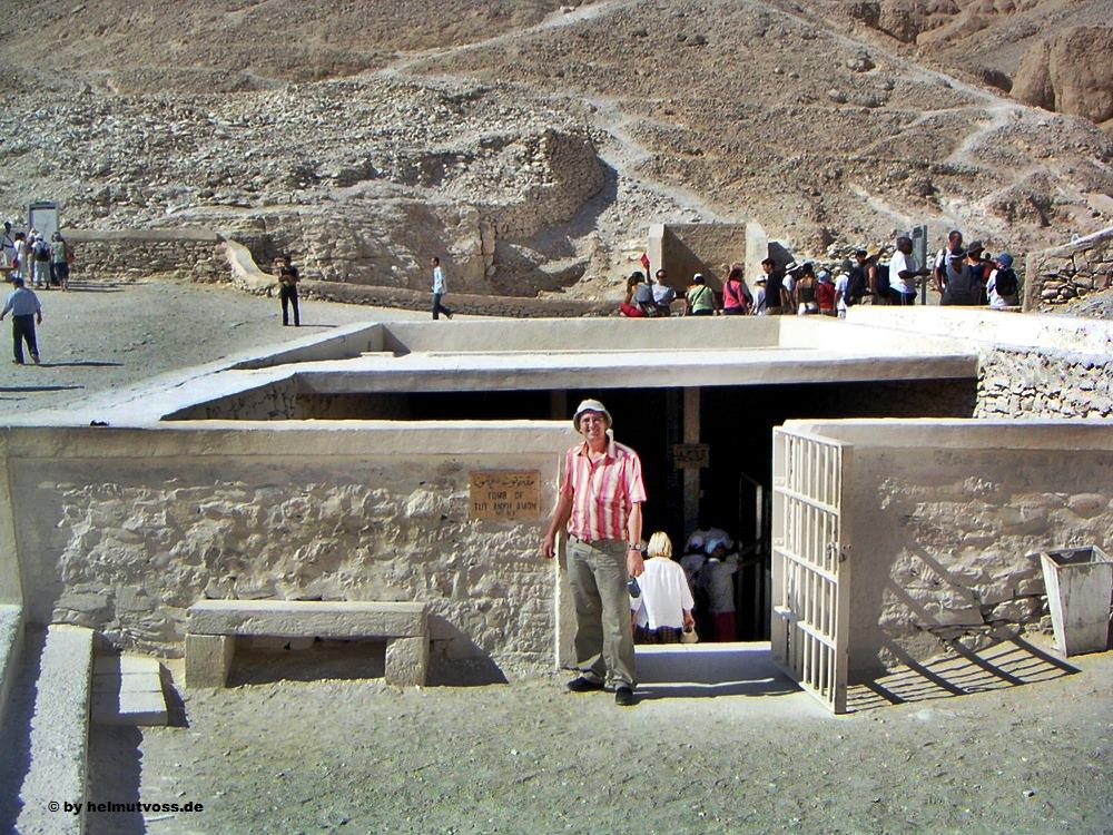 Tal der Koenige, Valley of the Kings, Tut Ankh Amun, Aegypten