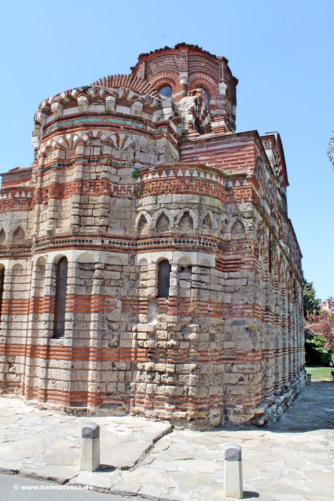 Bulgarien, Nessebar, Christus Pantokrator Kirche, Church of Christ Pantocrator