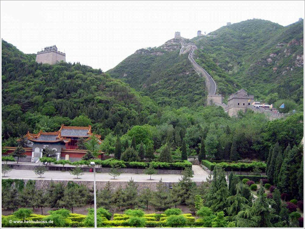 China / Chinesische Mauer - 萬里長城 - Juyong-Pass - 居庸關, Wànlǐ Chángchéng - Jūyōng Guān, Great Wall of China