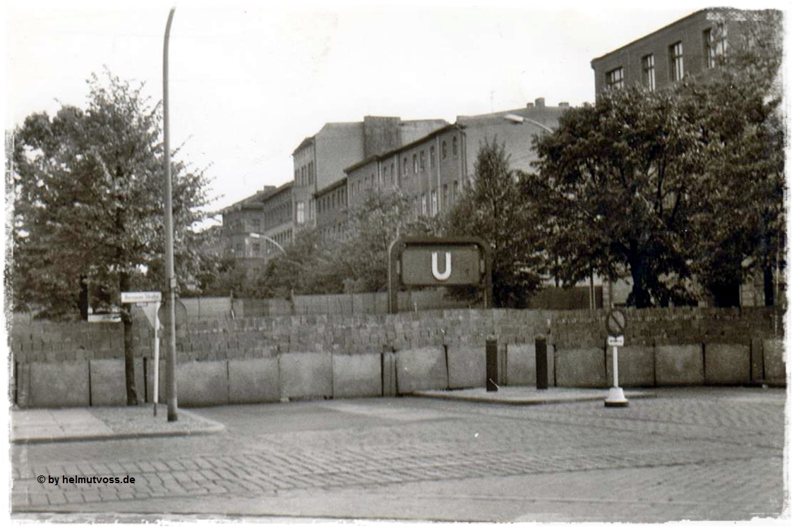 Berliner Mauer, The Berlin Wall 1961