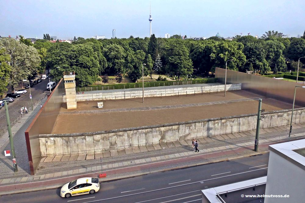 Berliner Mauer, The Berlin Wall