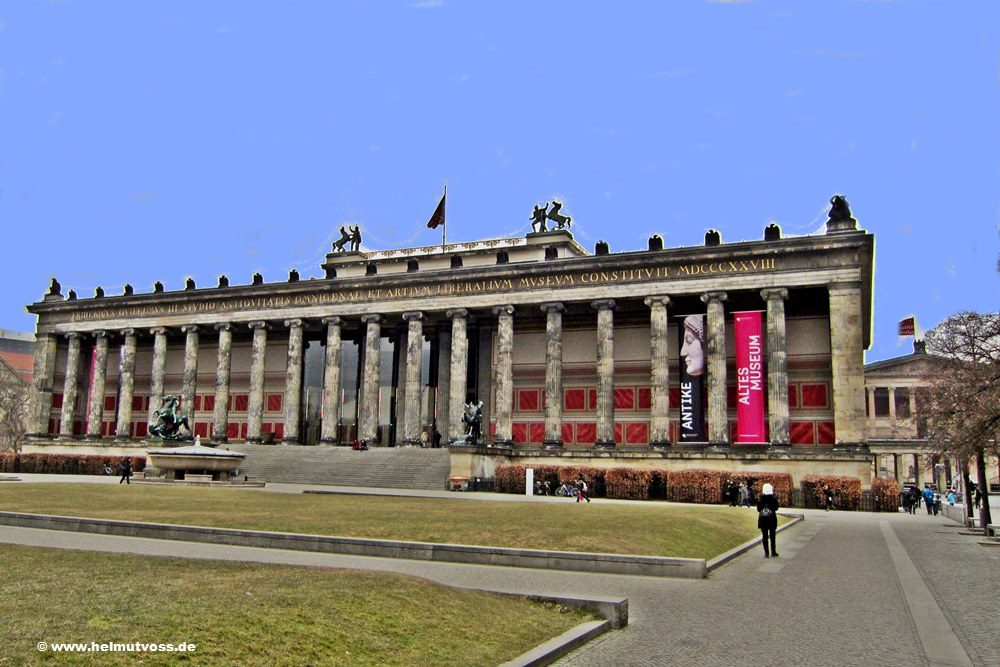 Berlin Museumsinsel: Altes Museum Berlin