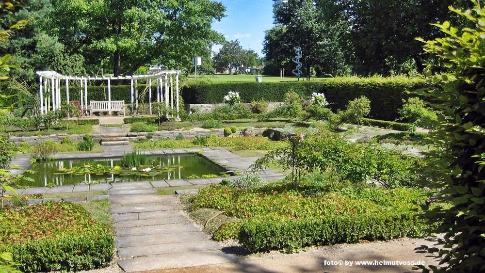Garten Jugendstil dortmund westfalenpark deutschland germany
