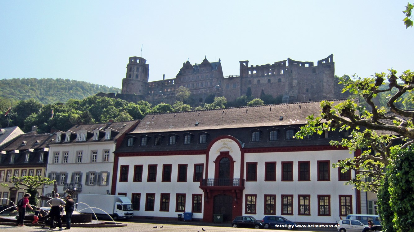 Heidelberger Schloss, Heidelberg Castle, Germany