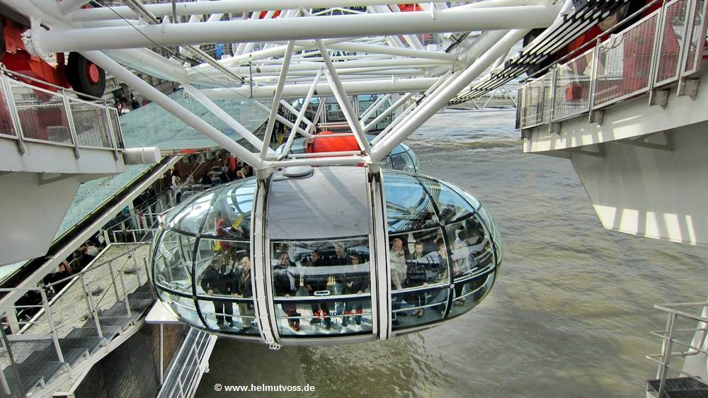 London, Westminster, Themse, Auge von London, Das London Eye