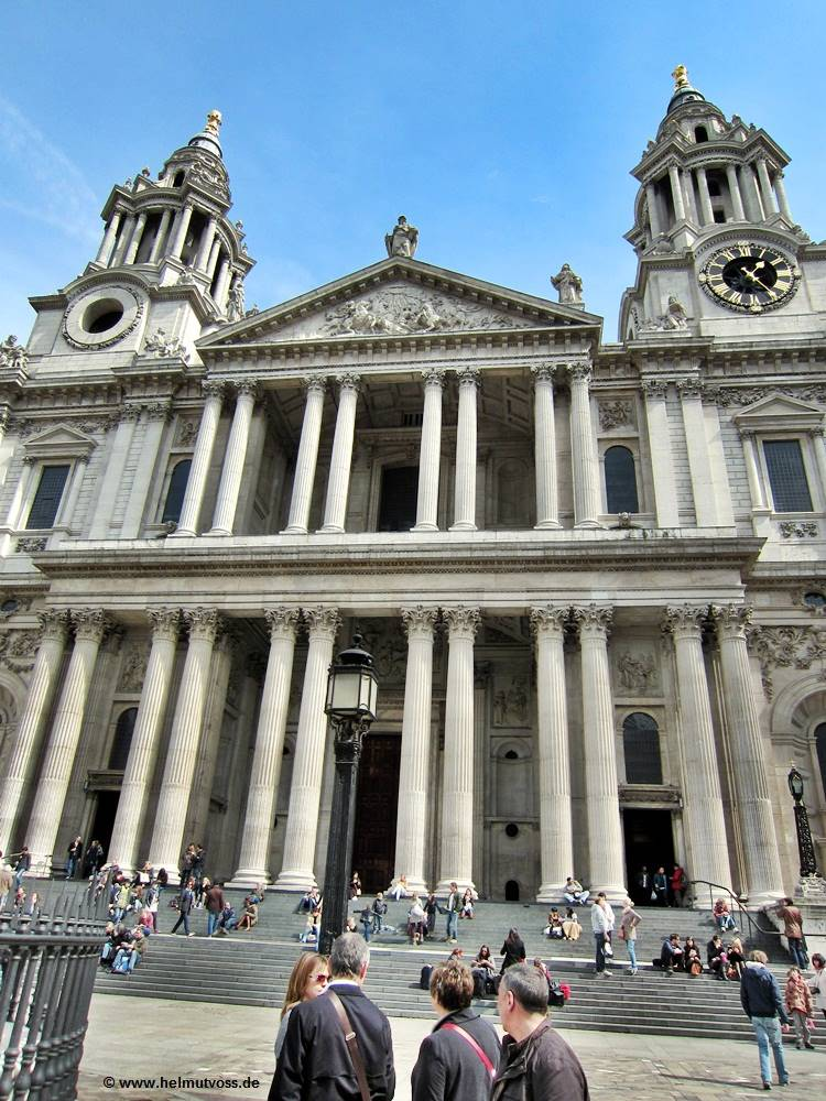 United Kingdom, London, St. Paul's Cathedral, St. James, Westminster, Buckingham Palace