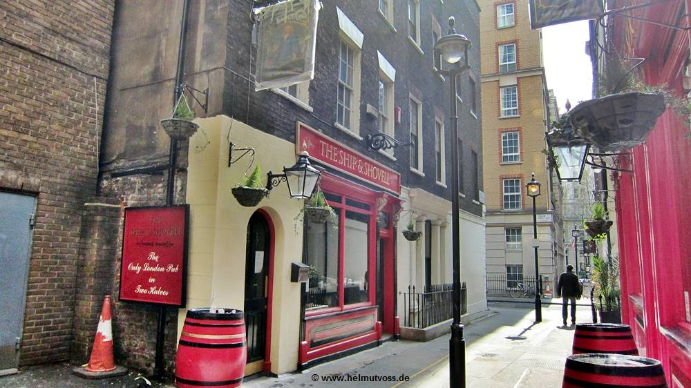 London, City of Westminster, Craven Passage