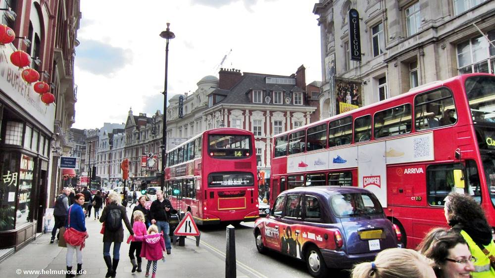 London, City of Westminster, London's Soho, London's Chinatown, Trafalgar Square, Charing Cross Road