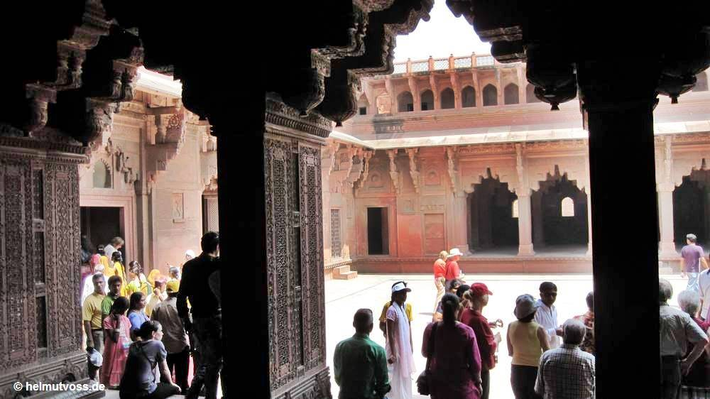Indien, Agra, the Red Fort of Agra, Fort Agra
