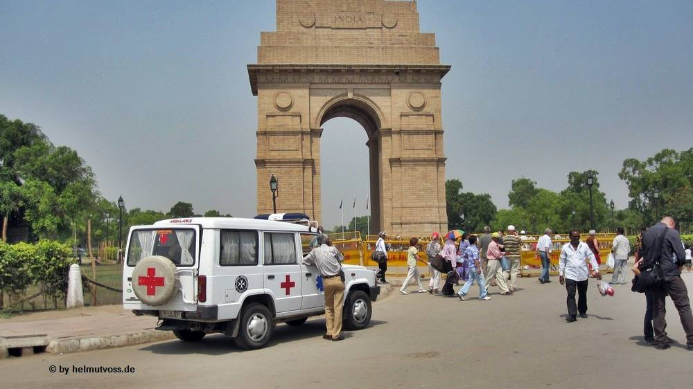 "Indien Dehli India Gate ""All India War Memorial"""