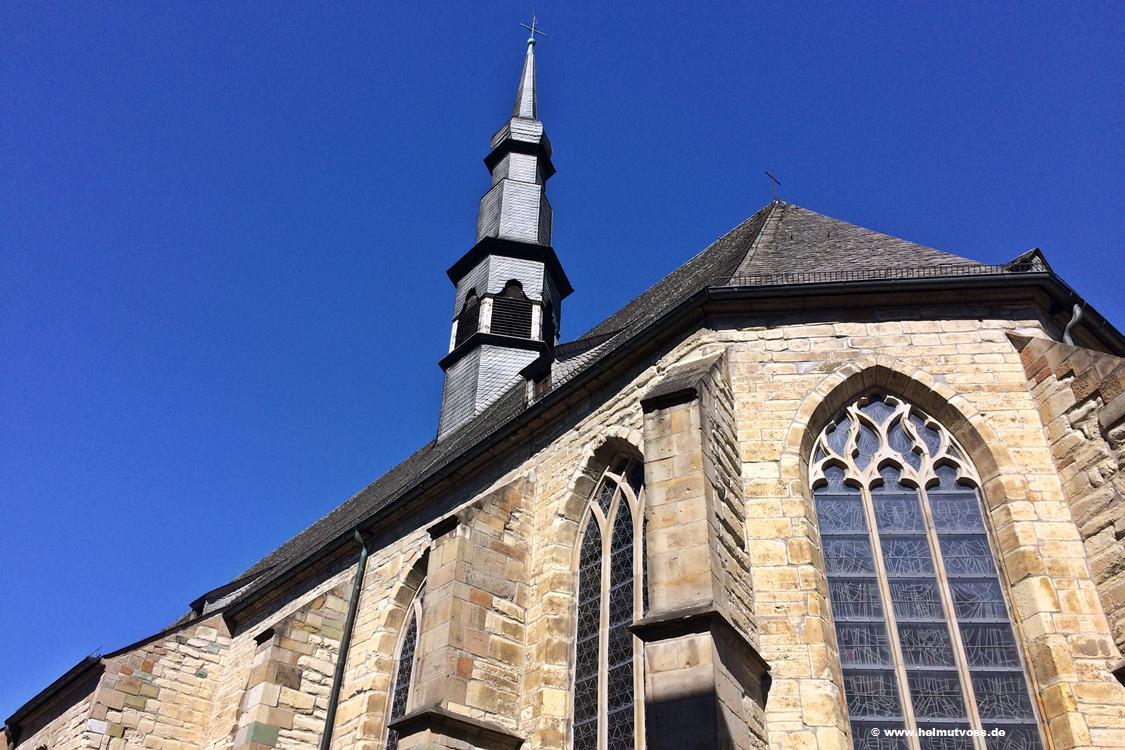 Hamm Pfarrkirche St. Agnes, Sakrale Bauwerke, Kirchen