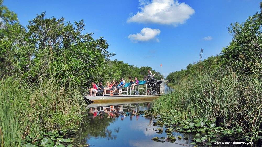 USA - Florida - Everglades Airboat Tour