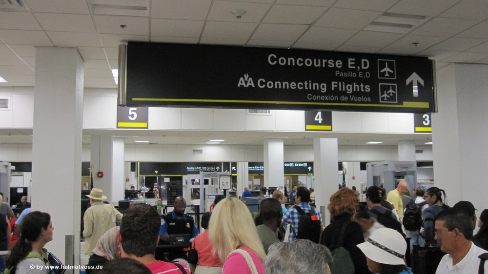 USA - Florida - Miami International Airport